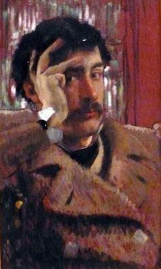 James Tissot (French, 1836-1902) - Self portrait, 1865