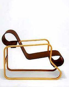 Alvar Aalto Model No. 41 lounge chair