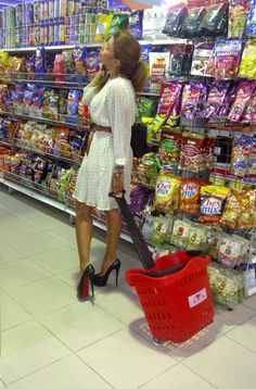 supermarket glamour
