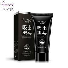 suction black mask deep cleansing nose blackhead remover facial mask black head acne black mud face mask beauty skincare bioaqua