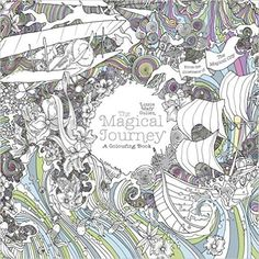 The Magical Journey: A Colouring Book Magical Colouring Books for Adults, Band 3: Amazon.de: Lizzie Mary Cullen: Fremdsprachige Bücher