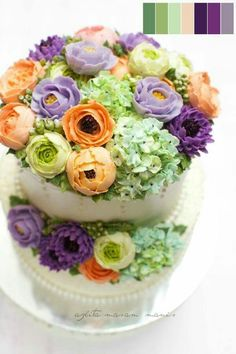 Bc flower cake