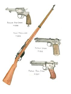 ww1 austro-hungarian individual weapons by AndreaSilva60 on DeviantArt