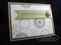 Curly Cute and Circle Circus by Andi Potler, Independent Stampin Up Demonstrator