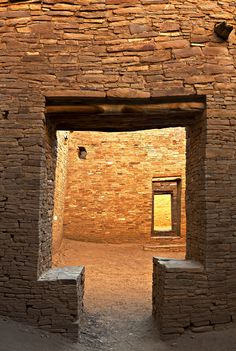 Pueblo Bonito, occupied from 828 to 1126 A.D.. One of the Great Houses of Chaco Culture National Historic Park in northern New Mexico.