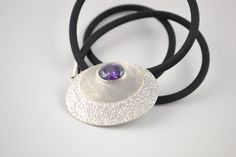 925 sterling silver with amethyst #jewelry #handmade
