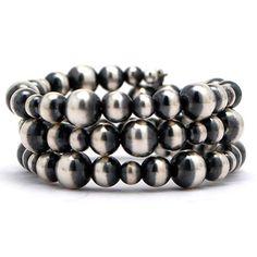 Rocki Gorman Navajo Pearl Coil Bracelet at Maverick Western Wear