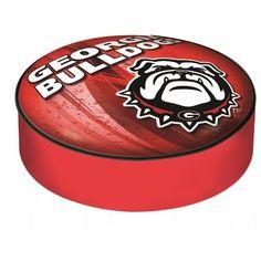 Holland Bar Stool Barstool Cushion Cover NCAA Team: University of Georgia - Bulldog