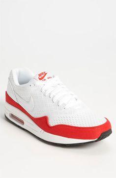 Men's Nike Air Max Lunar1 OG Sport Red Shoes WhiteChilling