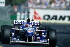 Jacques Villeneuve - Williams Renault FW18 -  1996 Australian Grand Prix, Albert Park