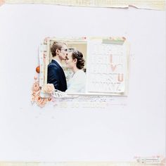 Scrapbook Trend: white backgrounds