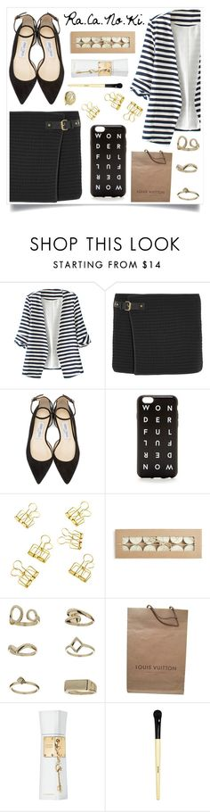 """Change The Subject"" by racanoki ❤ liked on Polyvore featuring WithChic, Isabel Marant, Jimmy Choo, Topshop, Louis Vuitton, Justin Bieber, Bobbi Brown Cosmetics, Estée Lauder, women's clothing and women"