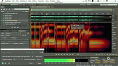 Adobe Audition - Change Pitch