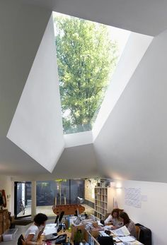 Residential Extension by Alison Brooks Architects - rooflight and internal volumes