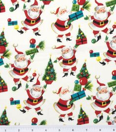 Holiday Inspirations Fabric-Santa's Presents : holiday fabric : fabric :  Shop | Joann.com