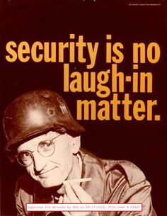 Les affiches de la NSA dans les années 50 – Graphisme & interactivité