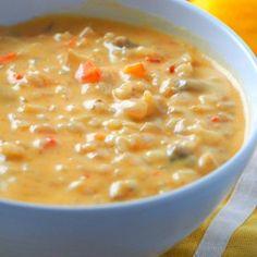 Mushroom and Rice Spicy Thai Soup - Woman Scribbles Pot Roast Recipes, Thai Recipes, Veggie Recipes, Asian Recipes, Healthy Recipes, Veggie Meals, Healthy Food, Spicy Thai Soup, Curry Soup