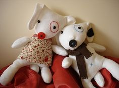 Seriously.....how cute are these....they are glove dogs!