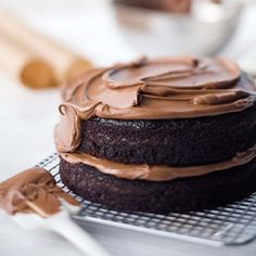 Ina Garten's Double-Chocolate Layer Cake