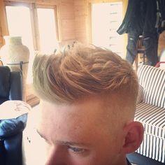 Mens hair #hairdressing, #menshair, #fade, #texture, #barber #hairstyle - by Ryan Bartlett Hair