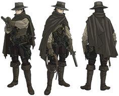 DarkHunter Design_hat/serape by ~MaximusMk1