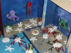 The Homeschool Den: Ocean Activities - diorama