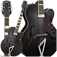 Gretsch G100 Synchromatic Cutaway Hollow Body Electric Guitar (Black)