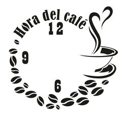 Reloj Hora del café (S)                                                       …