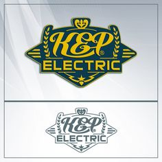 This is the Creative Hat Logo Design Concept for KEP Electric
