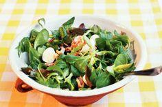 Salade met pancetta - Recept - Allerhande
