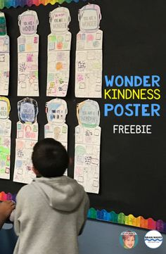 Teach Your Child to Read Wonder freebie - Wonder Kindness Poster to promote kindness in your classroom with your students. Give Your Child a Head Start, and.Pave the Way for a Bright, Successful Future. Kindness Activities, Reading Activities, Teaching Reading, Teaching Kindness, Kindness Ideas, Reading Help, Reading Groups, Reading Resources, Guided Reading
