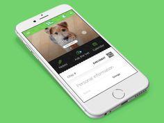 GIF menu animation for Dog & Style  by Ivan Gosic  https://dribbble.com/shots/1876561-GIF-menu-animation-for-Dog-Style