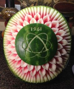 See 15 marvelous student carvings from 201 Course - Beyond the Basics. Watermelon Carving, Fruit Carvings, Student, Blog, Blogging