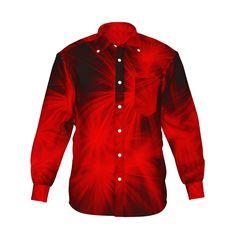 『Shine グラフィックシャツ レッド』 - 7th Spirits