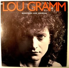 """Lou Gramm Foreigner 1987 Atlantic Promo 12"""" 33 RPM LP """"Questions and Answers""""   eBay"""