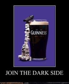 Star Wars - Guinness - Lego - Join the dark side.
