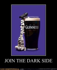 Star Wars - Guinness - Lego - Join the dark side.