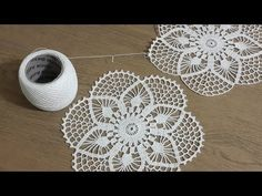 Tığişi Yuvarlak Dantel Yapımı Part 2 Crochet You are in the right place about Crochet basket Here we offer you the most beautiful pictures about. Crochet Circles, Crochet Doily Patterns, Crochet Mandala, Crochet Chart, Filet Crochet, Crochet Doilies, Crochet Flowers, Easter Crochet, Crochet Round
