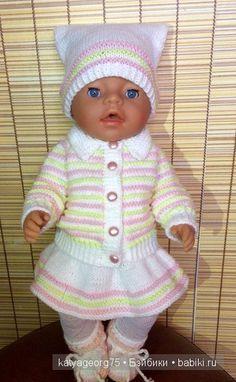 Это мой первый топик, я хочу показать несколько своих куколок и одежду которую вяжу сама / Одежда и обувь для кукол - своими руками и не только / Бэйбики. Куклы фото. Одежда для кукол