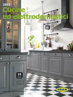 9 kök i både lantlig och modern stil | Kitchens, Grey ikea kitchen ...