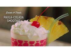 "From Drinks & Treats: ""Paula-Colada Smoothie"""