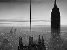 History In Pictures minutes ago More Midtown Manhattan and the Empire State building at dusk, Photograph by Samuel H. Empire State Building, Nyc, Manhattan, Brooklyn, City Pages, Dere, Historical Pictures, Old Pictures, New York City