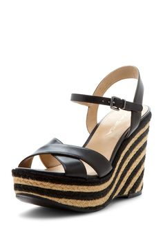 Evelina Wedge Sandal