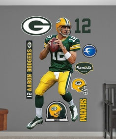 Aaron Rodgers Wall Decal Set