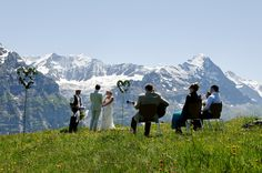 small wedding on the Swiss Alps...dream...