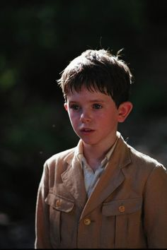 Freddie Highmore in Two Brothers--great kid actor and so adorable!
