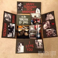Deployment care package- Happy Valentine's Day to my soldier boyfriend!