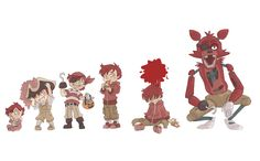 Foxy Timeline by kikaigaku on DeviantArt