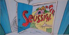 Seussical backdrop ideas