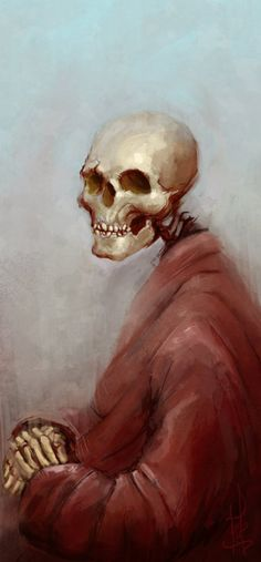 ☆ Death Wears A Cosy Red Robe :→: Artist Marcus Lindgren ☆